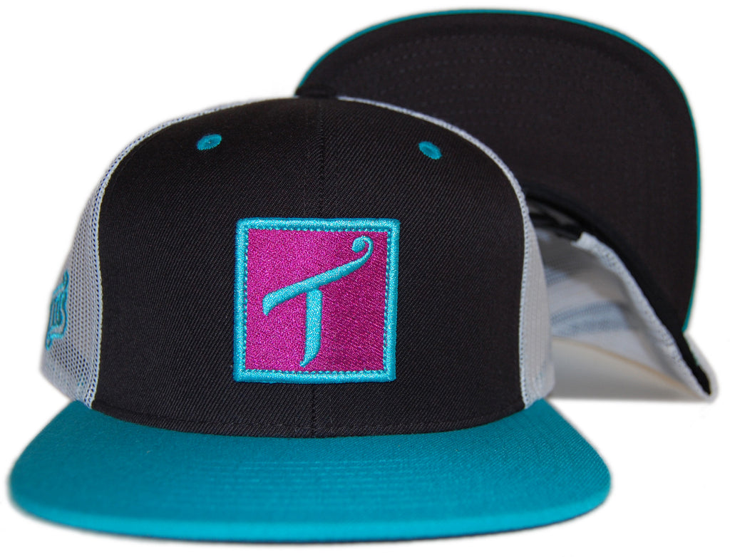 <!--020120529045429-->T.I.T.S. - 'Square Logo' [(Black) Snap Back Hat]