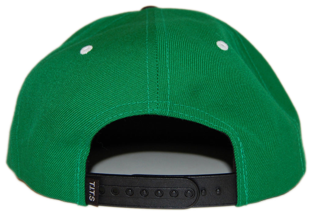 "T.I.T.S. - 'Letterman ""T""' [(Green) Snap Back Hat]"