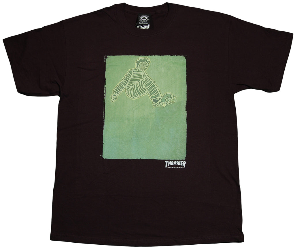 <!--2011110139-->Thrasher Magazine - 'Jailbird' [(Black) T-Shirt]