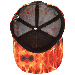 <!--020140506063549-->Thrasher Magazine - 'Inferno' [(Orange) Snap Back Hat]