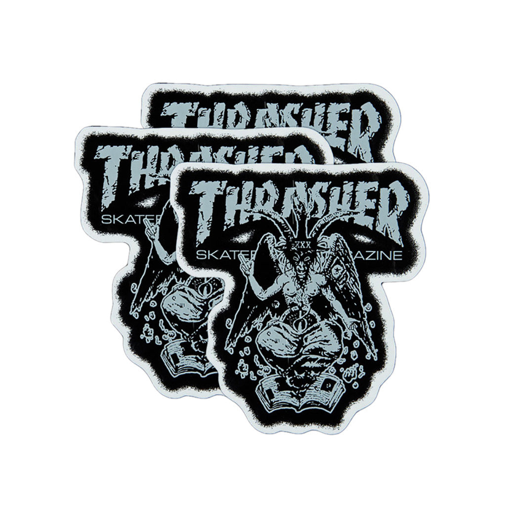 <!--020110419029213-->Thrasher Magazine - 'Demonetics (X 3)' [Sticker]