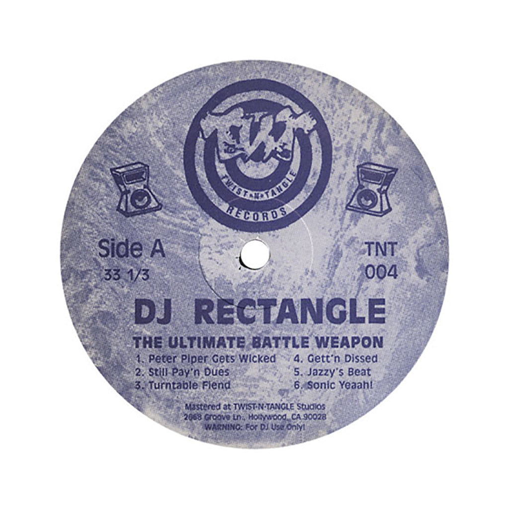 DJ Rectangle - 'The Ultimate Battle Weapon Vol. 1 (Unofficial Release)' [(Black) Vinyl LP]