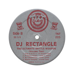 <!--1900010148-->DJ Rectangle - 'The Ultimate Battle Weapon Vol. 2' [(Black) Vinyl LP]