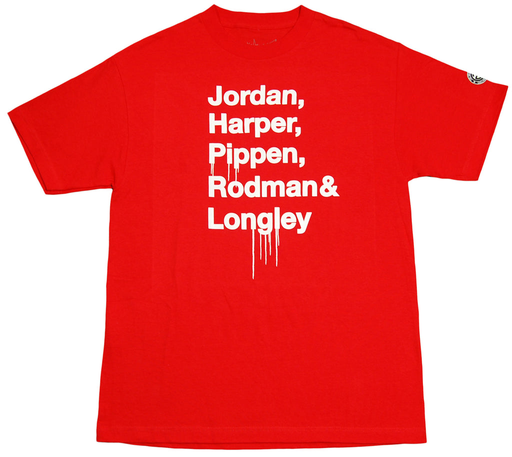 <!--2012040331-->Originators - 'Bulls '90s Shoutout' [(Red) T-Shirt]