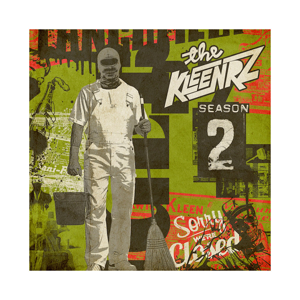 The Kleenrz - 'Season Two' [(Black) Vinyl LP]