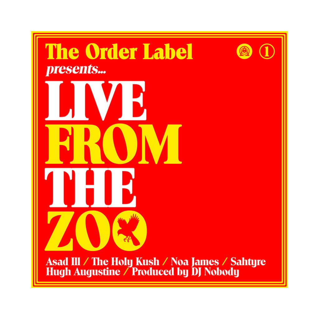 (DJ) Nobody - 'Live From The Zoo Vol. 1' [Cassette Tape]