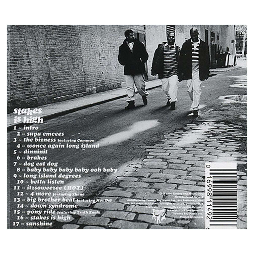 <!--1996070212-->De La Soul - 'Stakes Is High' [CD]