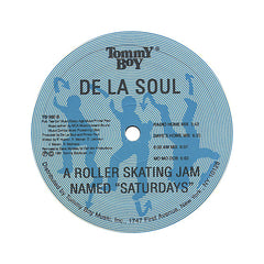 "<!--1991010137-->De La Soul - 'A Roller Skating Jam Named ""Saturdays""/ A Roller Skating Jam Named ""Saturdays"" (Remixes)' [(Black) 12"" Vinyl Single]"