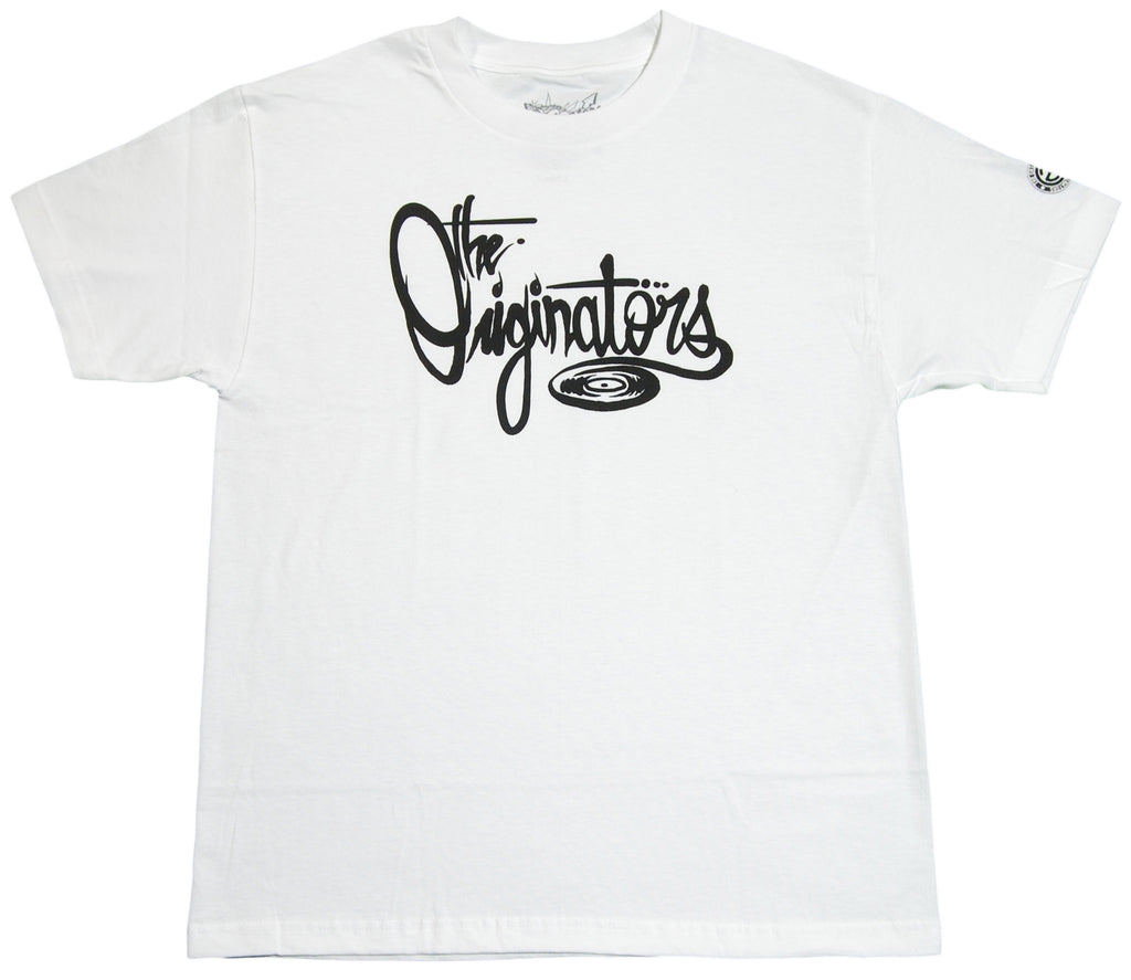 <!--2012051544-->Originators - 'Vinyl Font' [(White) T-Shirt]