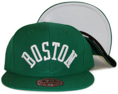 <!--2012022824-->Mitchell & Ness x NBA - 'Boston Celtics: NBA HWC 3RD Alternate Logo' [(Green) Fitted Hat]