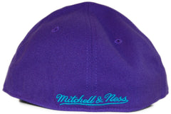 <!--2012022808-->Mitchell & Ness x NBA - 'Charlotte Hornets: NBA HWC Alternate Logo' [(Purple) Fitted Hat]