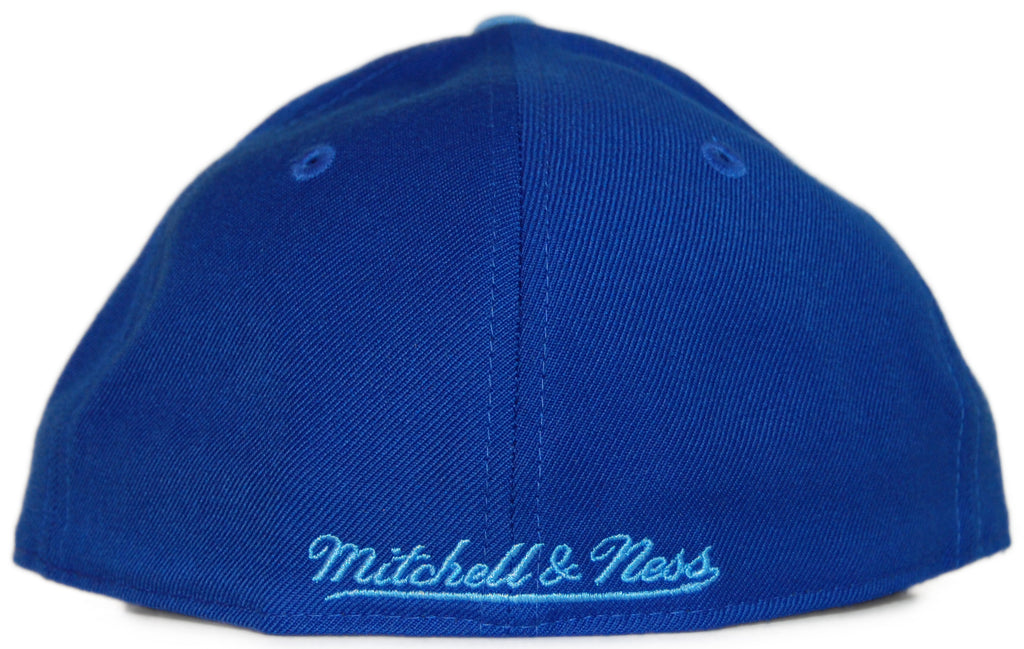 <!--2012022841-->Mitchell & Ness x NBA - 'Los Angeles Lakers: NBA HWC Alternate 2 Logo' [(Blue) Fitted Hat]
