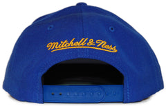 <!--020120228041951-->Mitchell & Ness x NBA - 'Denver Nuggets: NBA HWC Basic Logo' [(Blue) Snap Back Hat]