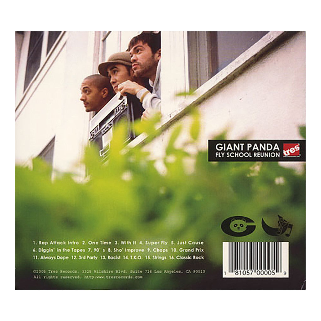 Giant Panda - 'Fly School Reunion' [CD]