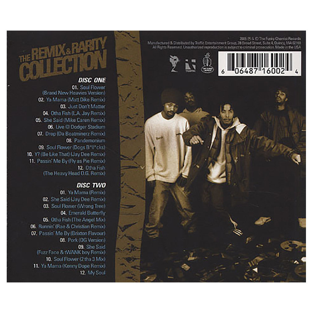 <!--120051108006059-->The Pharcyde - 'Sold My Soul: The Remix & Rarity Collection' [CD [2CD]]