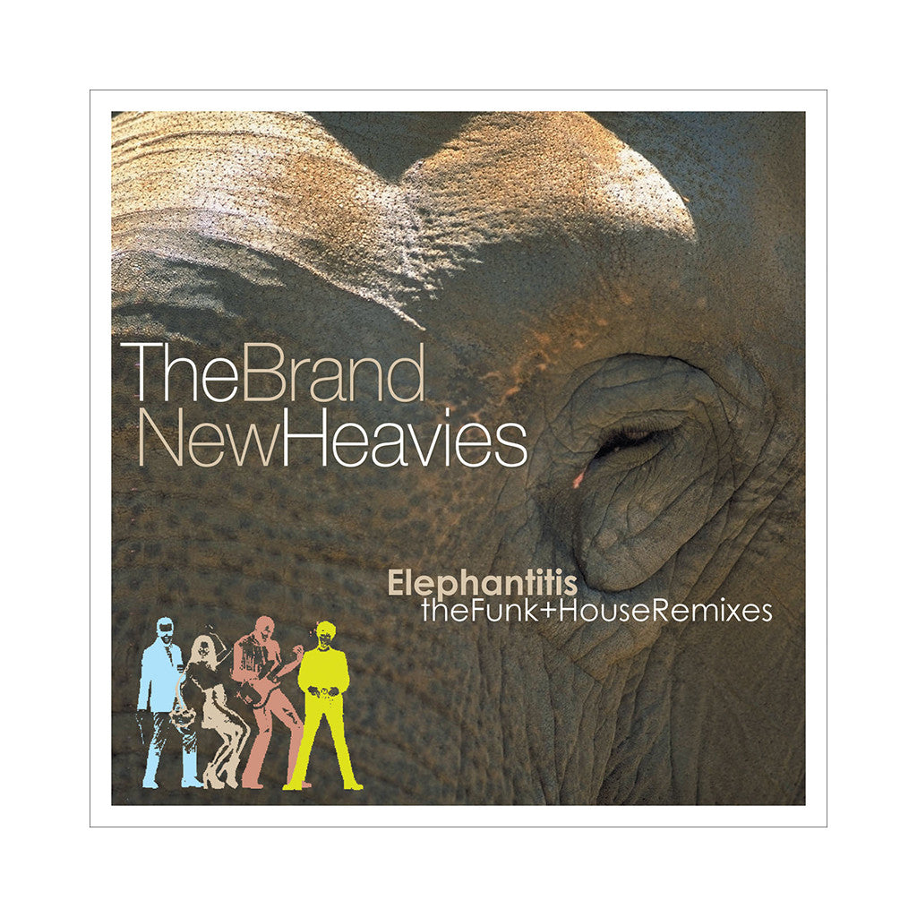 <!--120070123008919-->The Brand New Heavies - 'Elephantitis: The Funk & House Remixes' [CD [2CD]]
