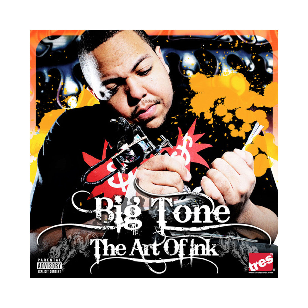 <!--120090519016301-->Big Tone - 'The Art Of Ink' [(Black) Vinyl [2LP]]