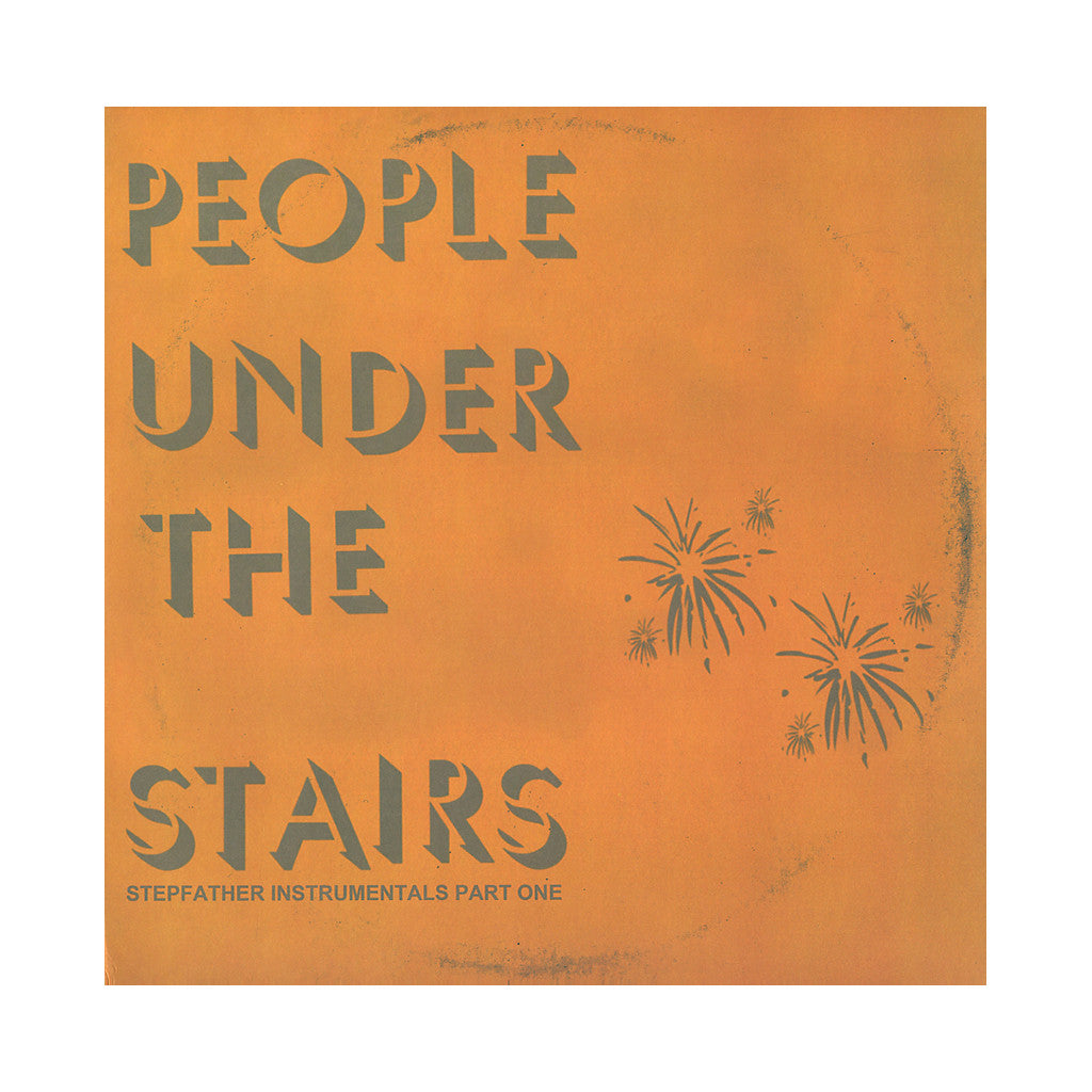 People Under The Stairs - 'Stepfather Pt. 1 (Instrumentals)' [(Black) Vinyl LP]