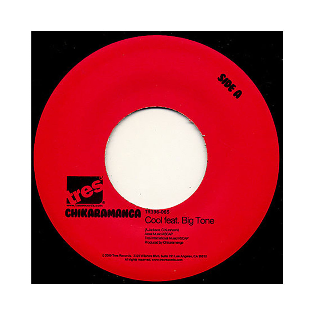 "Chikaramanga - 'Cool' [(Black) 7"" Vinyl Single]"