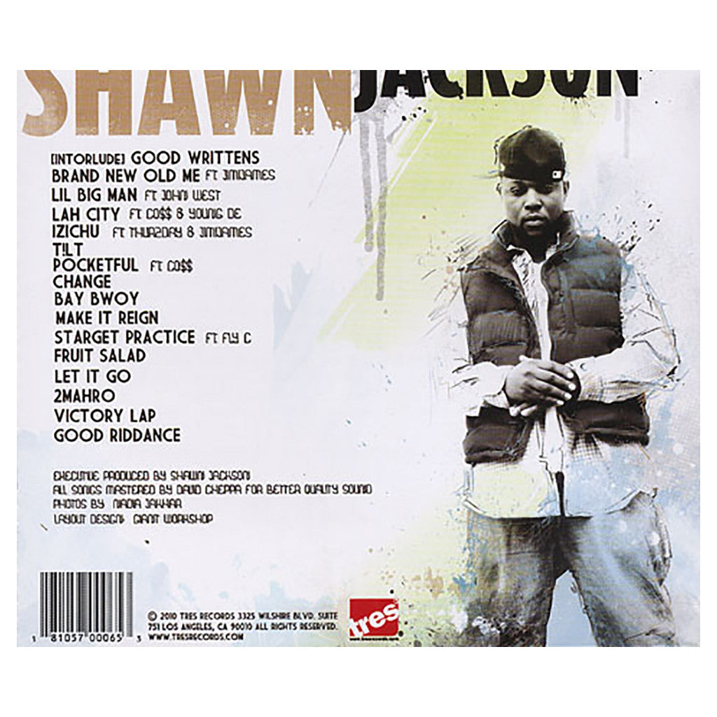 <!--2010072044-->Shawn Jackson - 'Brand New Old Me' [CD]