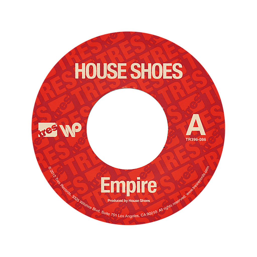 "<!--020120904048191-->House Shoes - 'Empire/ The Locusts' [(Black) 7"" Vinyl Single]"