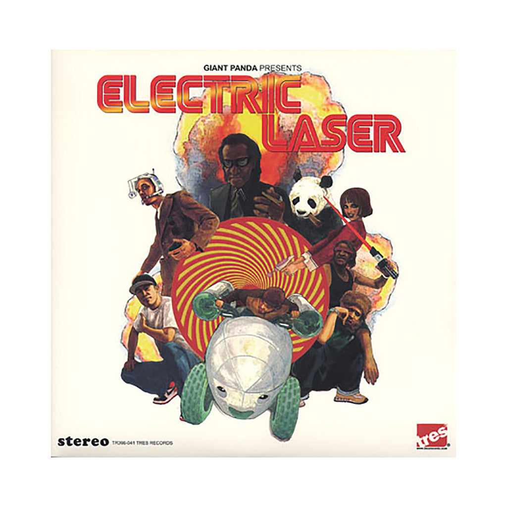 <!--2008062423-->Giant Panda - 'Electric Laser' [(Black) Vinyl [2LP]]