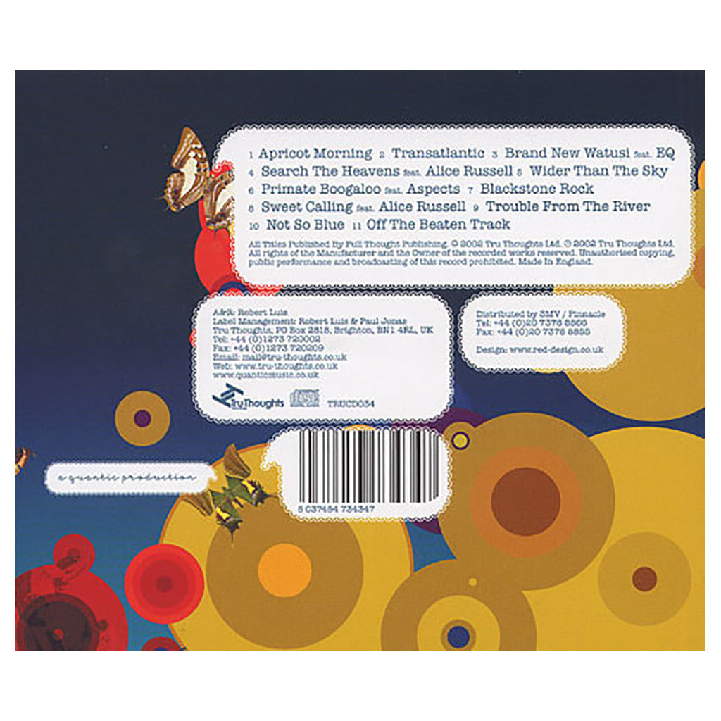 Quantic - 'Apricot Morning' [CD]