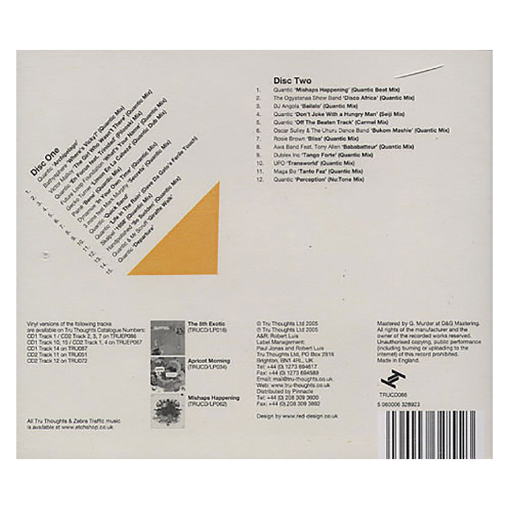 <!--2008072932-->Quantic Presents - 'One Offs, Remixes & B-Sides' [CD [2CD]]