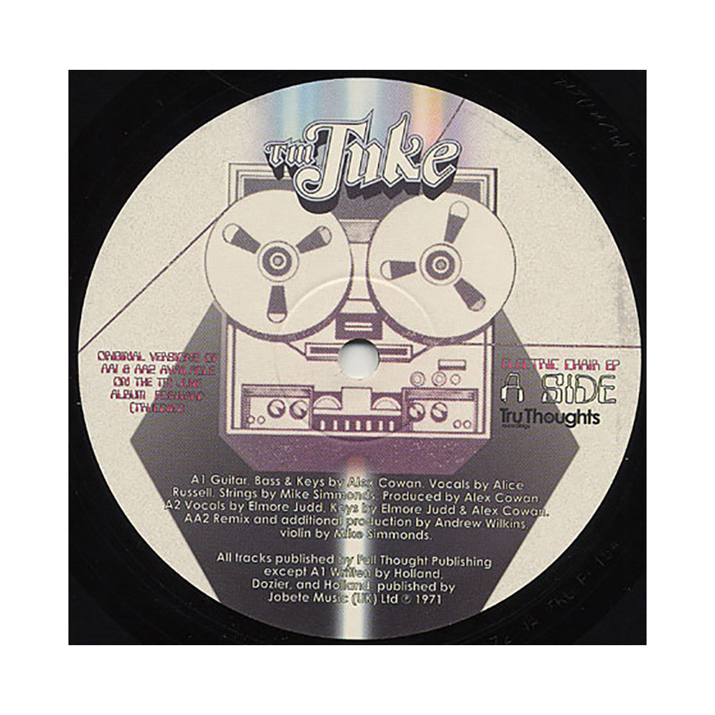 "<!--020080408016818-->TM Juke - 'Electric Chair EP' [(Black) 12"" Vinyl Single]"