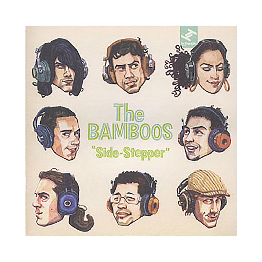 The Bamboos - 'Side-Stepper' [CD]