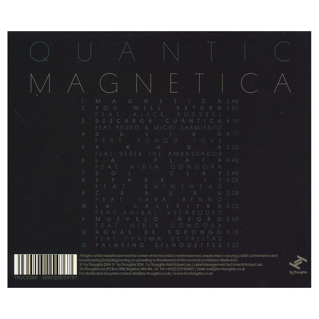 <!--2014061026-->Quantic - 'Magnetica' [CD]
