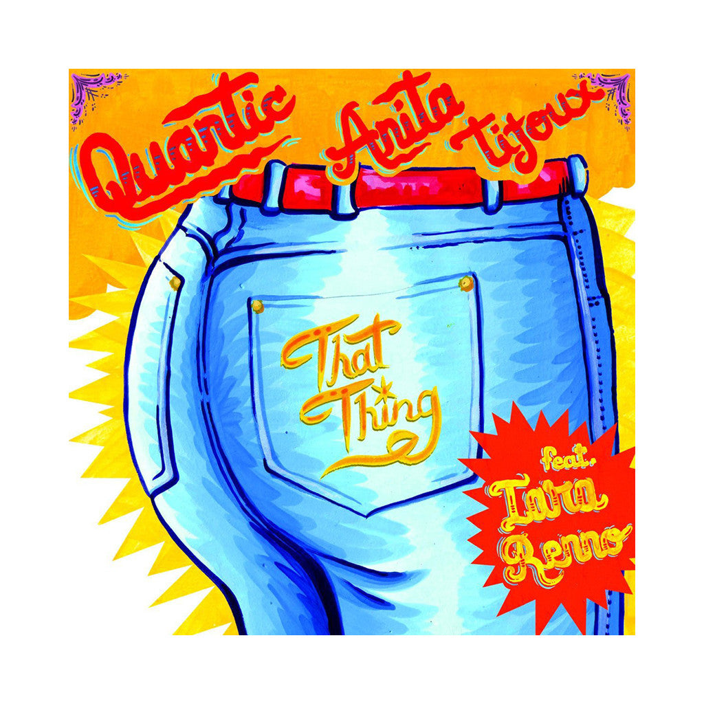 "<!--020130813001602-->Quantic & Anita Tijoux - 'Doo Wop (That Thing)/ Entre Rejas' [(Black) 7"""" Vinyl Single]"