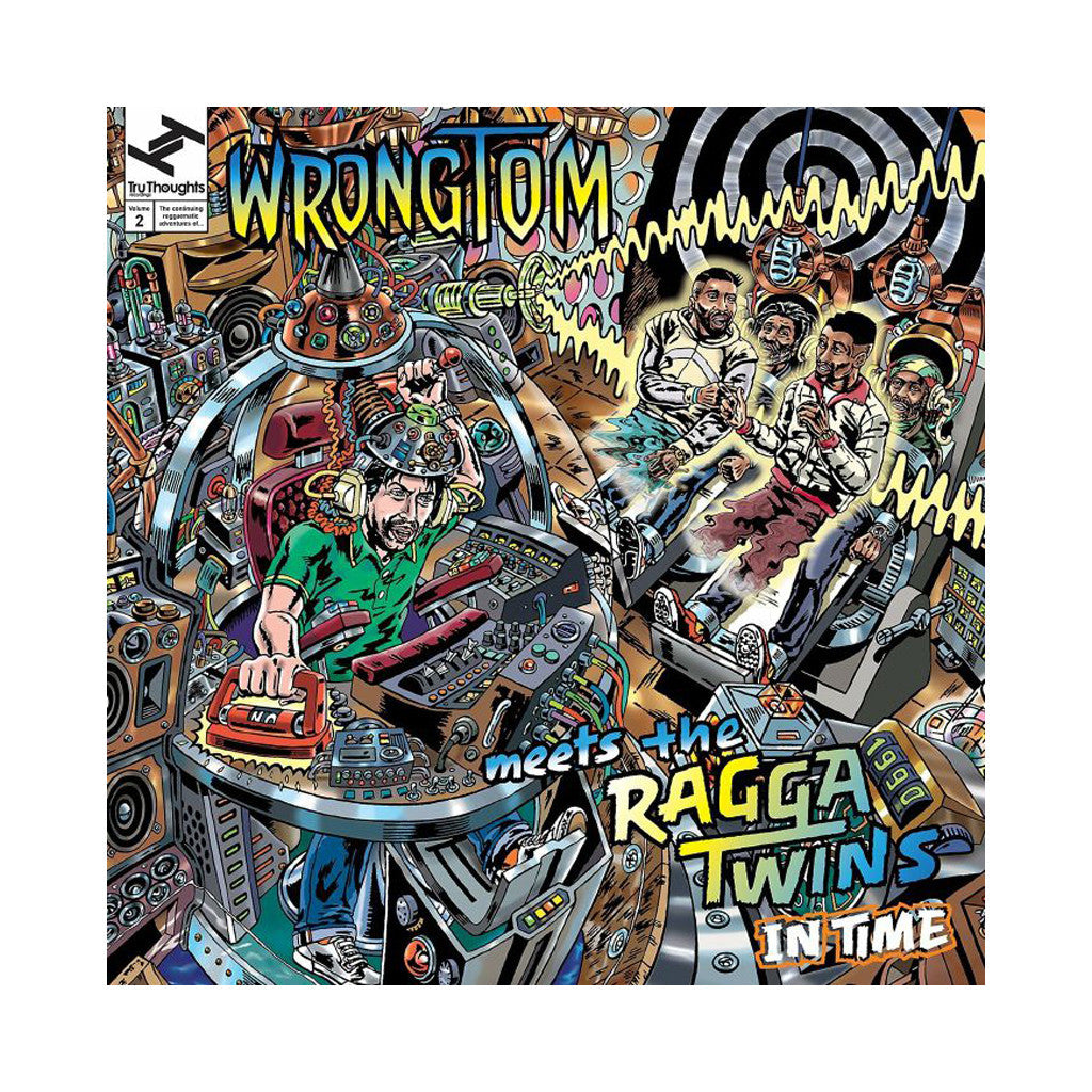 <!--120170425075050-->Wrongtom Meets The Ragga Twins - 'In Time' [CD]