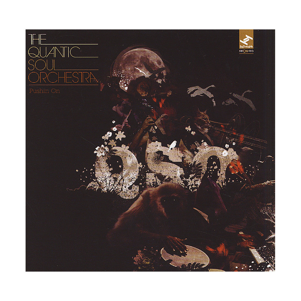 <!--120120814046212-->The Quantic Soul Orchestra - 'Pushin' On' [CD]