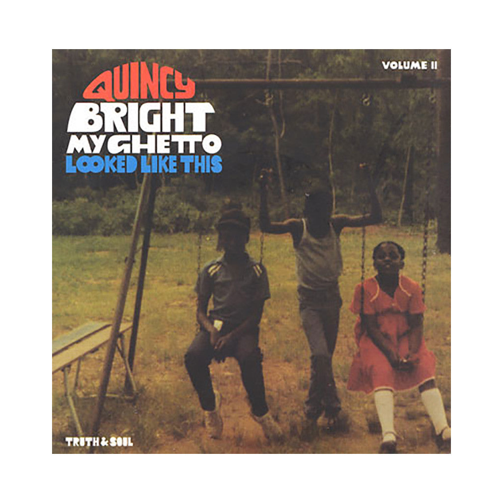 "<!--020090210016054-->Quincy Bright - 'My Ghetto Looked Like This Vol. 2' [(Black) 7"" Vinyl Single]"