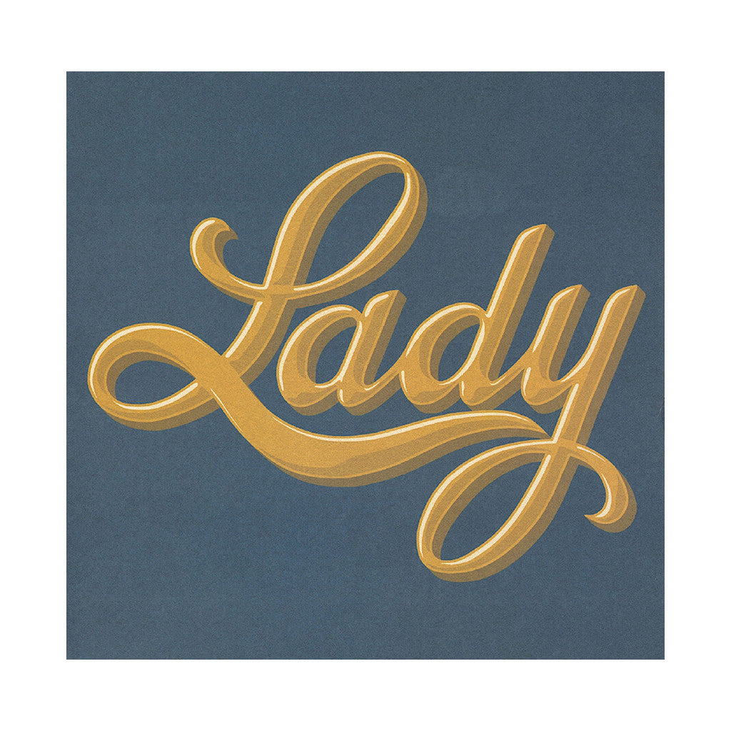 <!--020130305053711-->Lady - 'Lady' [(Black) Vinyl LP]
