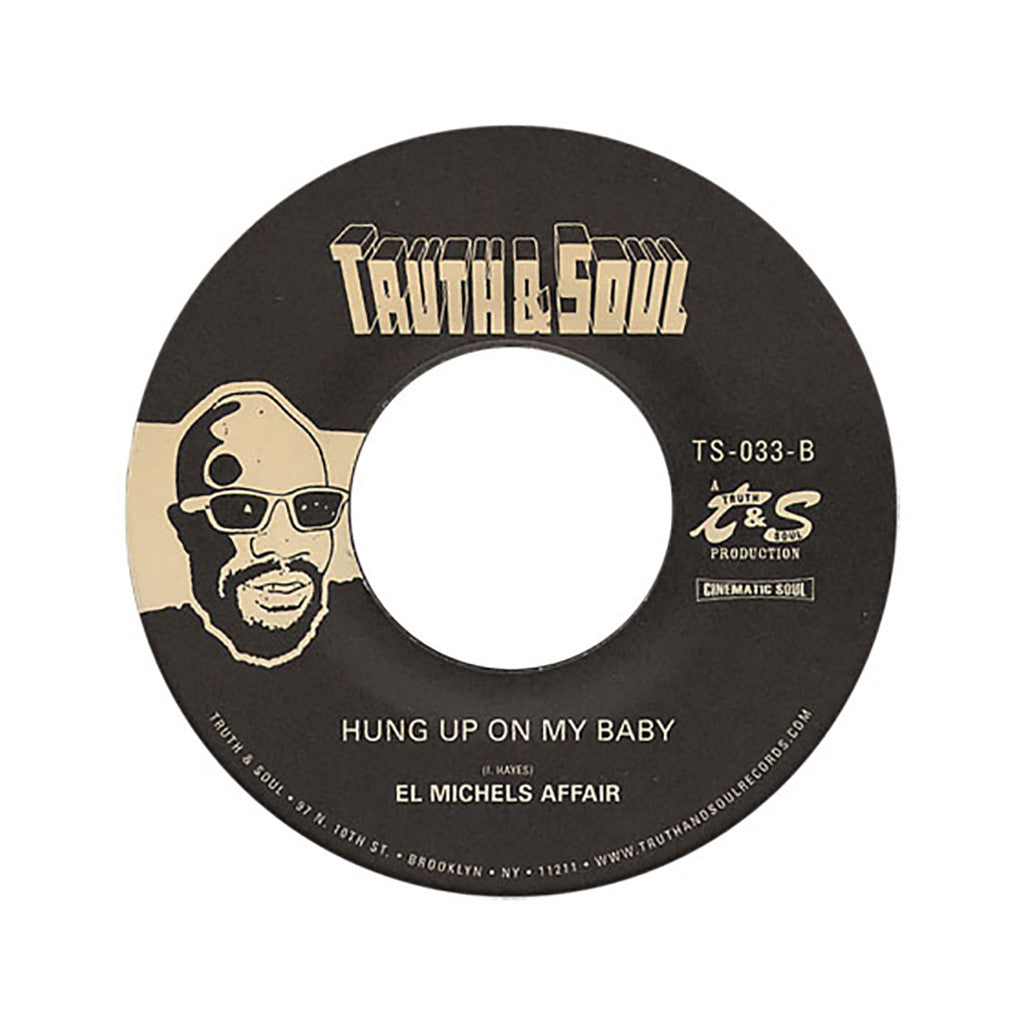 "<!--2012012446-->El Michels Affair - 'Run Fay Run/ Hung Up On My Baby' [(Black) 7"" Vinyl Single]"
