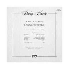 "<!--120130122053433-->Shirley Nanette - 'All Of Your Life/ People Are Thinking' [(Black) 7"" Vinyl Single]"