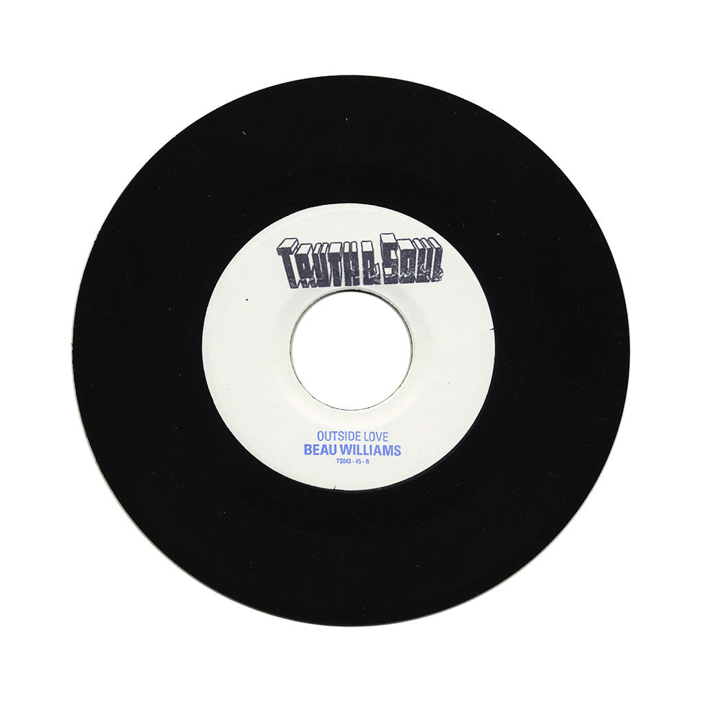 "Beau Williams - 'I'll Be Home Soon/ Outside Love' [(Black) 7"" Vinyl Single]"