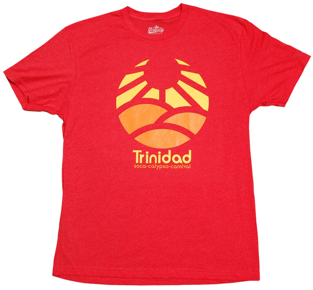 <!--2012091826-->Ubiquity Recordings - 'Trinidad' [(Light Red) T-Shirt]