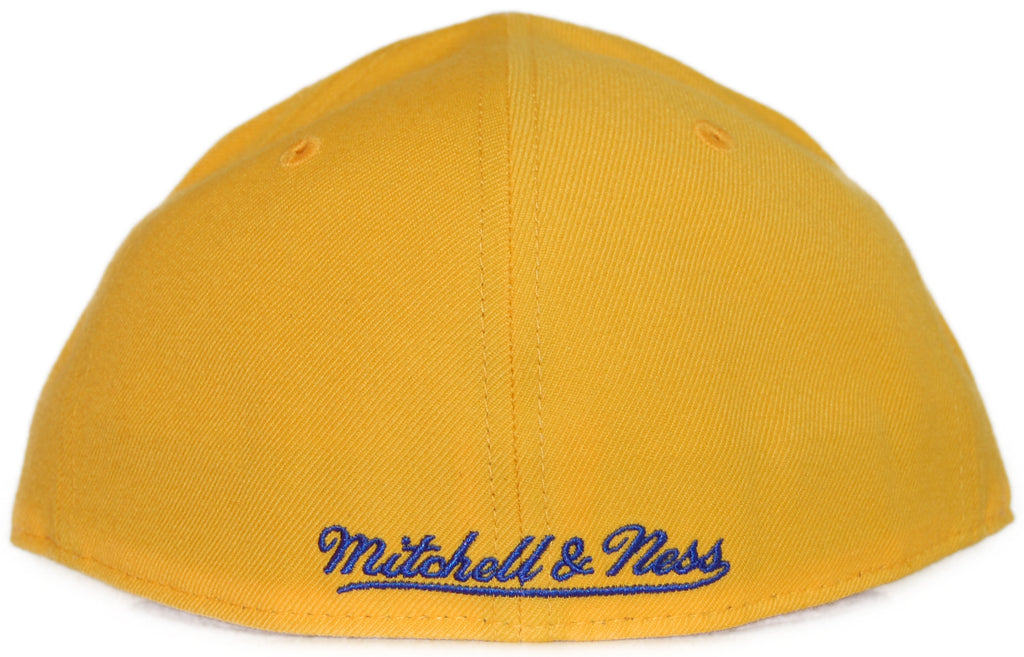 <!--2012022840-->Mitchell & Ness x NBA - 'San Francisco Warriors: NBA HWC Alternate Logo' [(Yellow) Fitted Hat]