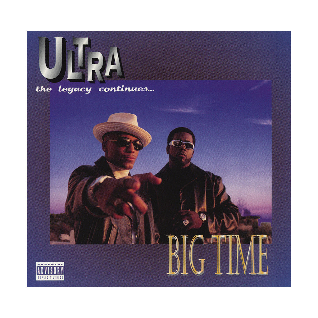 Ultra - 'Big Time (The Legacy Continues)' [(Black) Vinyl [2LP]]