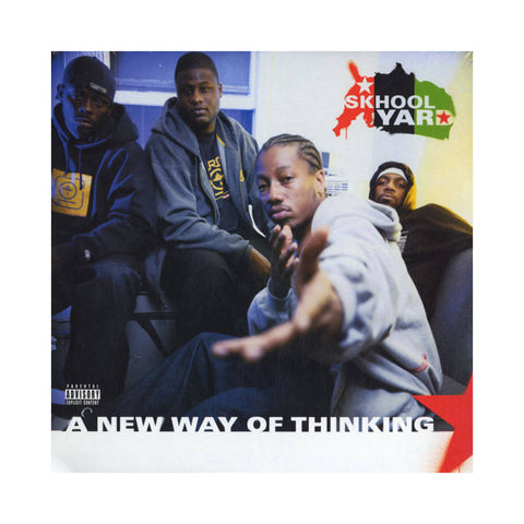 Skhool Yard - 'A New Way Of Thinking (THIS IS A RE-STOCK)' [CD]