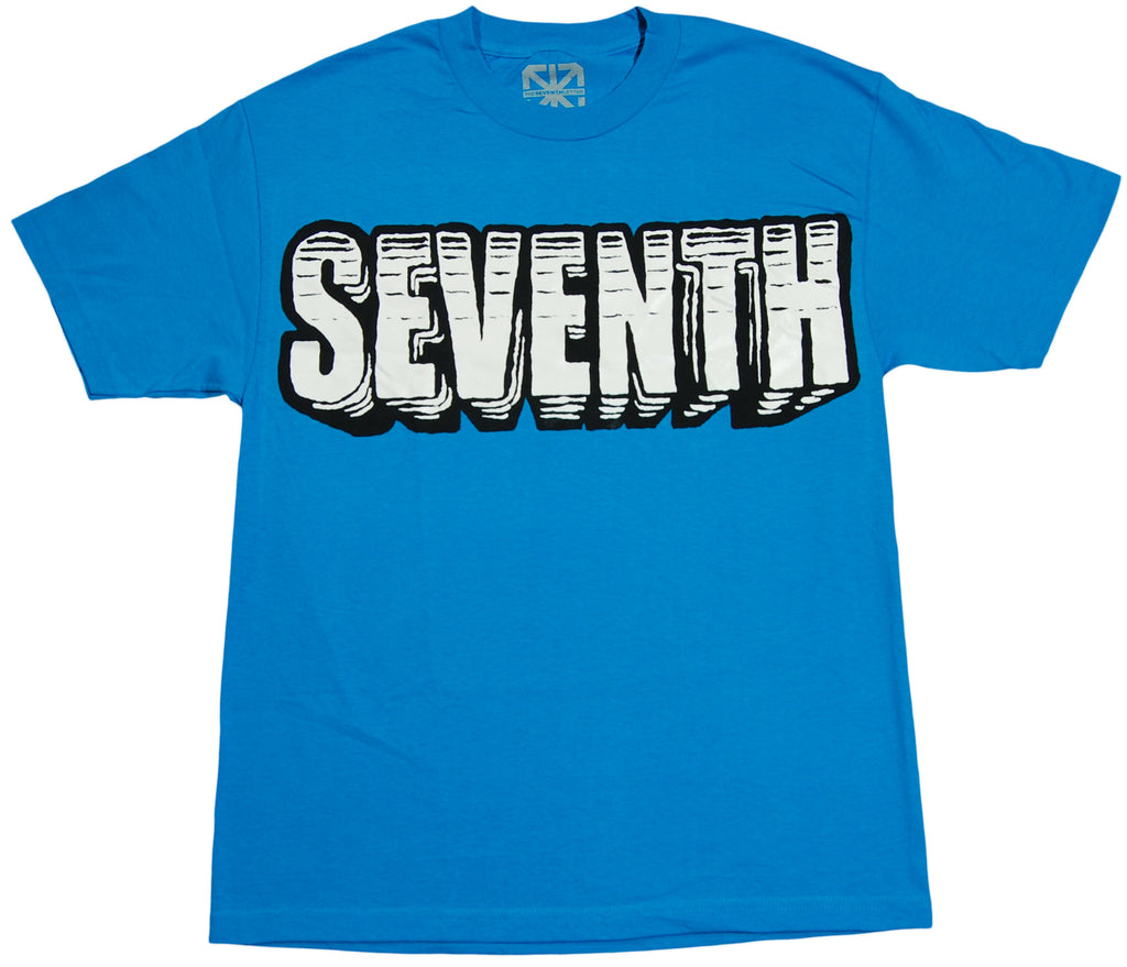 <!--2011091316-->The Seventh Letter - 'Blocks' [(Blue) T-Shirt]