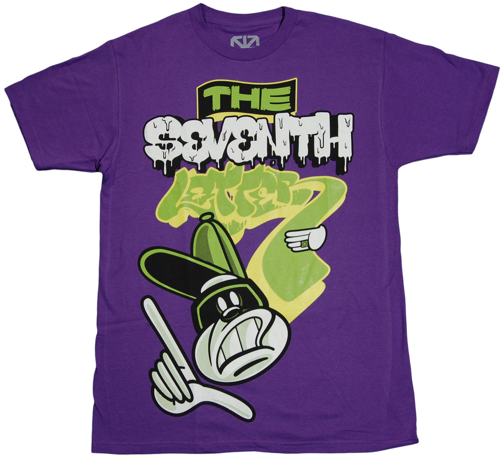 <!--2011091308-->The Seventh Letter - 'Thieves Theme' [(Purple) T-Shirt]