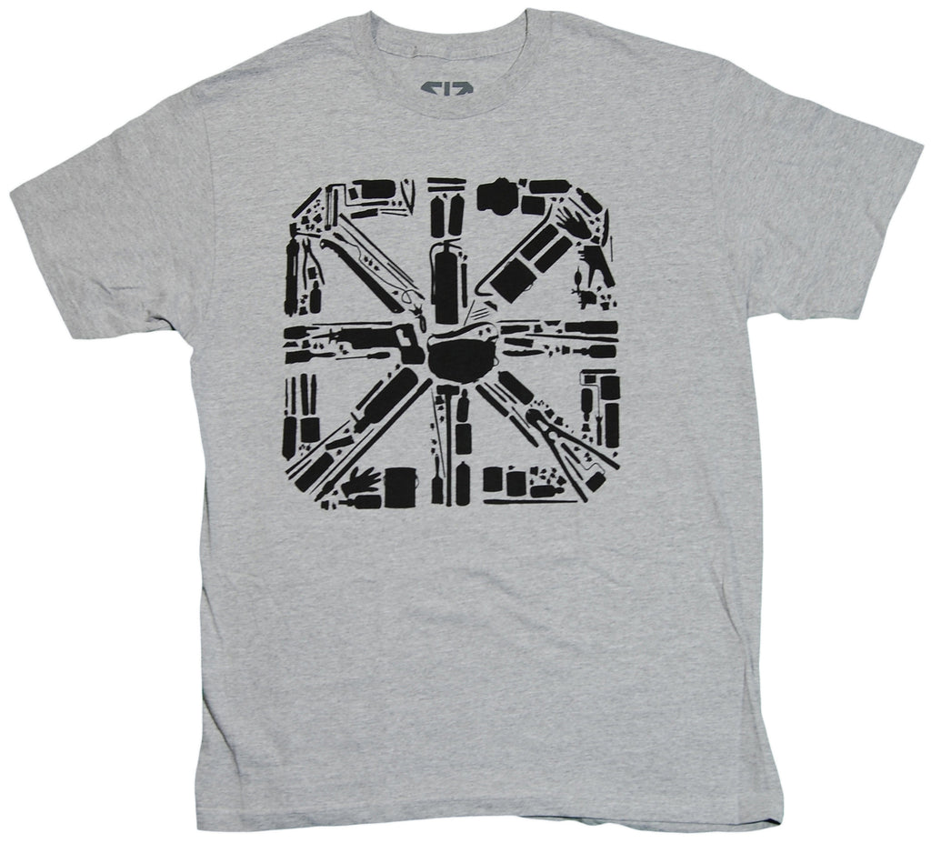 <!--2011091343-->The Seventh Letter - 'Tools Of The Trade' [(Gray) T-Shirt]