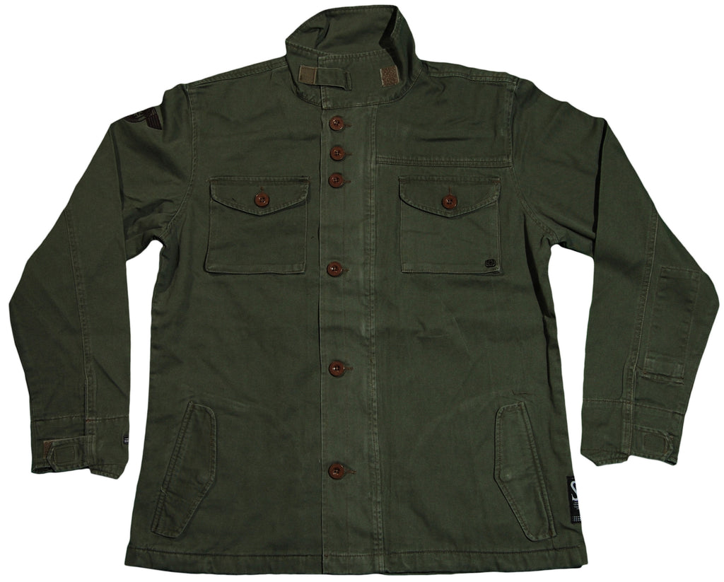 <!--2011092747-->The Seventh Letter - 'Crenshaw' [(Dark Green) Jacket]