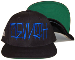 <!--020131008060177-->The Seventh Letter - 'Reverse Style' [(Black) Snap Back Hat]