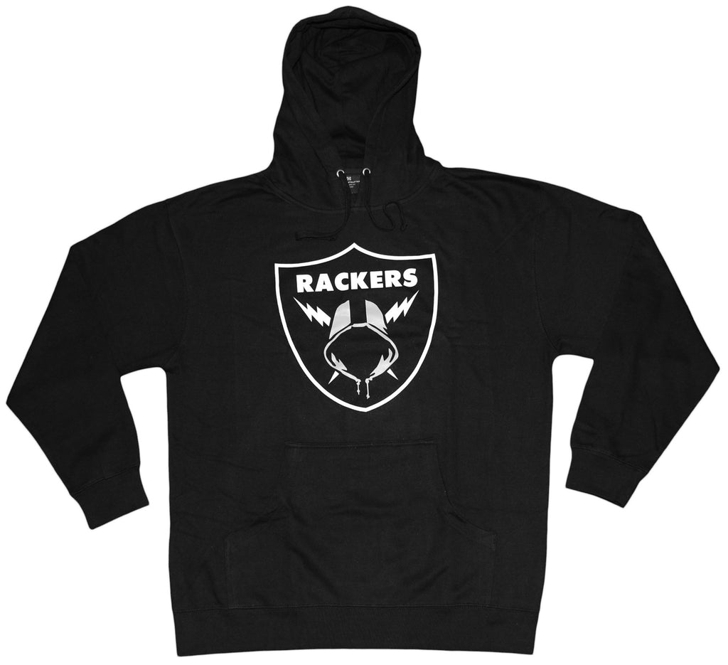 <!--2013090303-->The Seventh Letter - 'Rackers' [(Black) Hooded Sweatshirt]