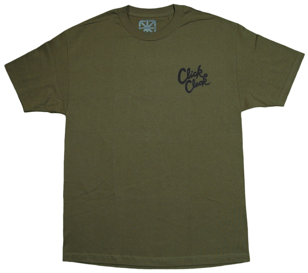 <!--2013040203-->The Seventh Letter - 'Click Clack' [(Dark Green) T-Shirt]